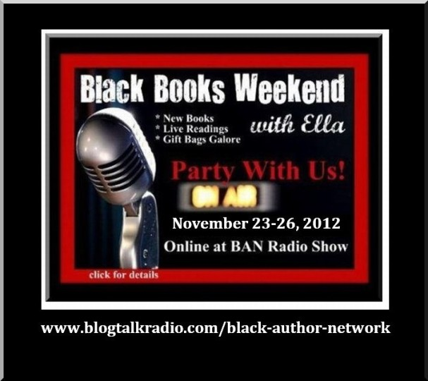 Bookclubs Rock!   Come party with us for 4-days during Black Books Weekend on BAN Radio!