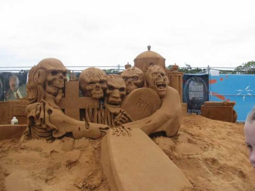 wonderful sand sculptures
