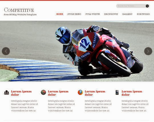 Competitive Website Template