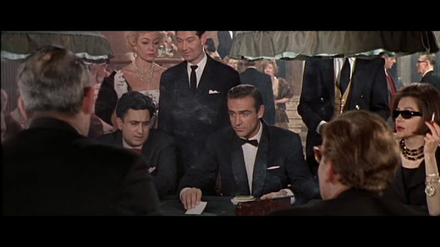 Dr. No Sean Connery's first scene as James Bond at Les Cercle