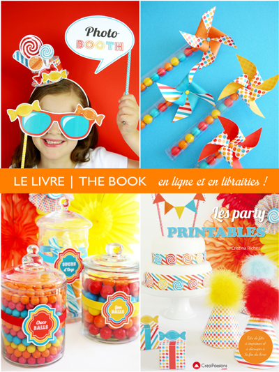 Party Printables Book with FREE Printables