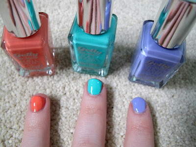 Picture of Barry M Gelly Hi Shine Nail Paint Swatches