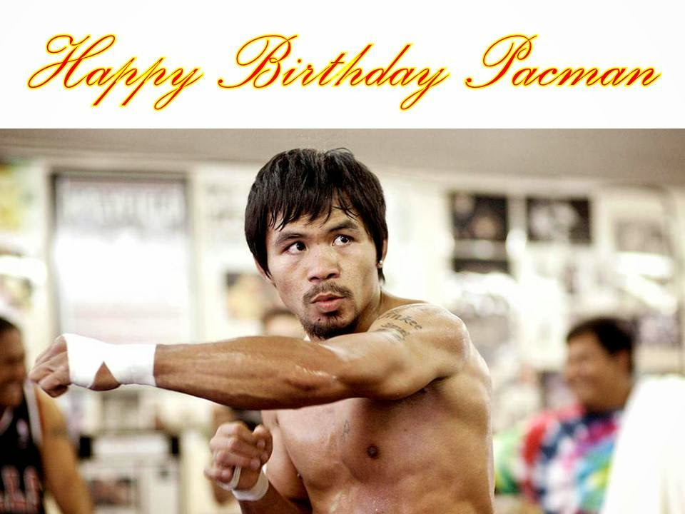 Happy Birthday Manny Cake