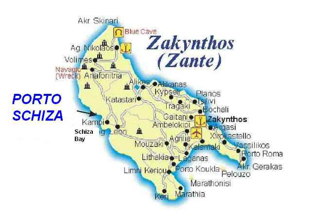 Tourist Attractions In Zakynthos Greece Another tourist dies
