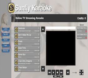 Sunfly Karaoke Google TV Channel