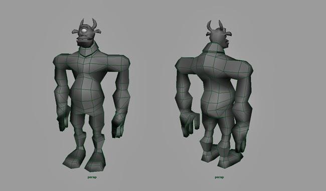 Troll Body Base Mesh Mark #1