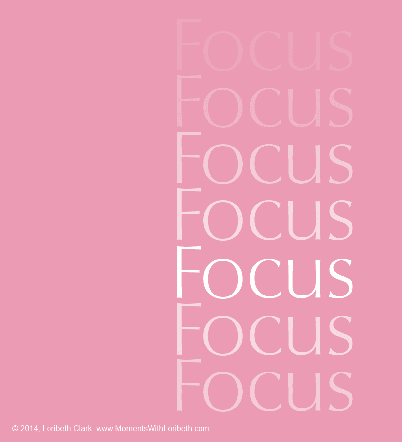 "Word of the Year ""Focus"""