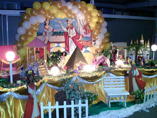 tema infantil Rainha Esther - decoração de festa na Barra da Tijuca, rj