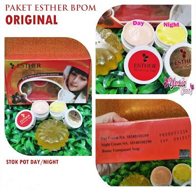 Paket Cream Ester BPOM Aman