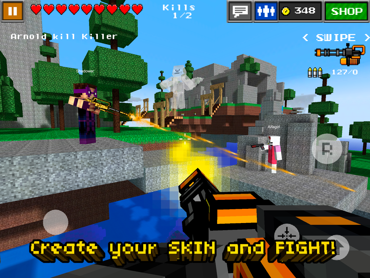 Pixel gun 3d pro minecraft ed apk data v4 1