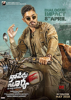 Naa Peru Surya Na Illu India (2018) Hindi Dual Audio Uncut HDRip | 720p | 480p