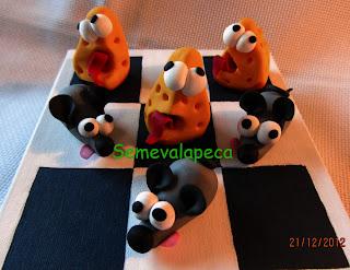 ratones y quesos
