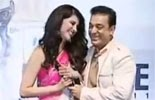 Kamal Hasan & Sruthi Hasan in 59th Filmfare Awards
