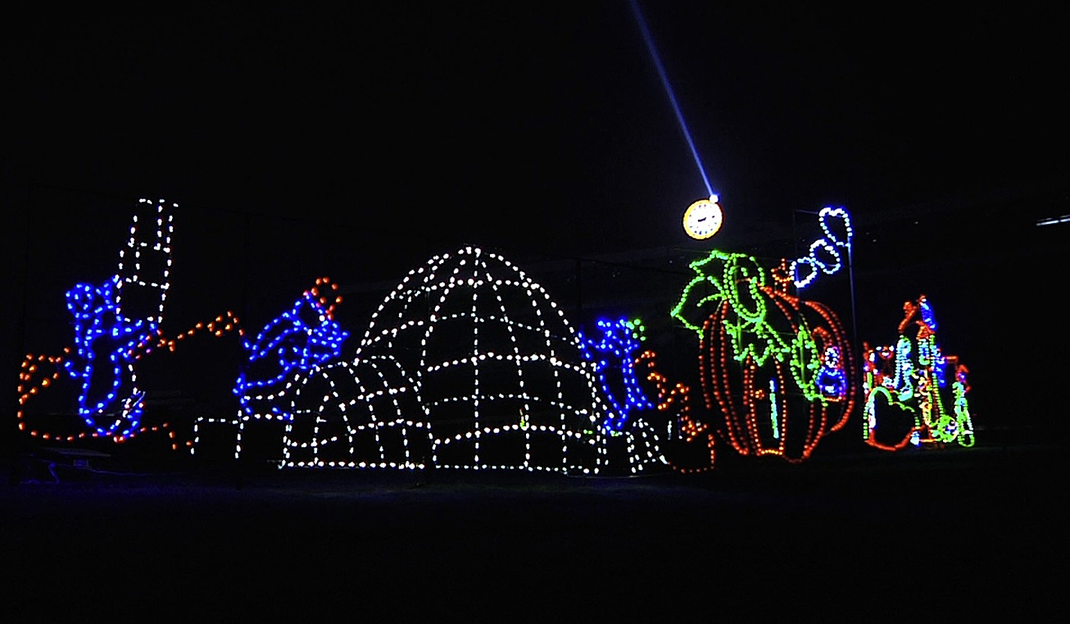 Finger click saver for Holiday light spectacular atlanta motor speedway