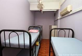 Hotel Murah Di Singapore Dekat MRT Bugis Backpacker Cozy Corner Hostel