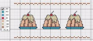 Gráfico para bordado de pudim