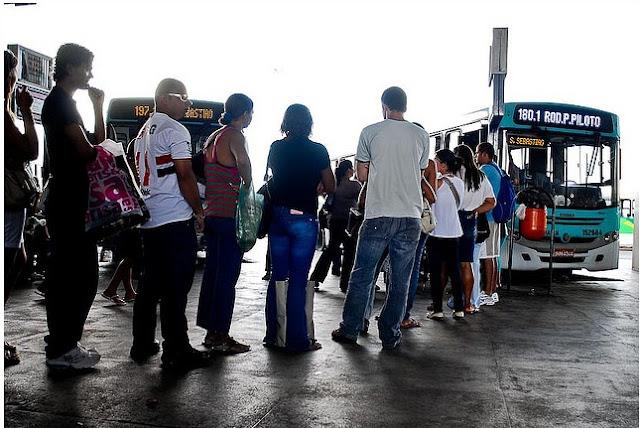 DF: Transporte público em São Sebastião é um caos