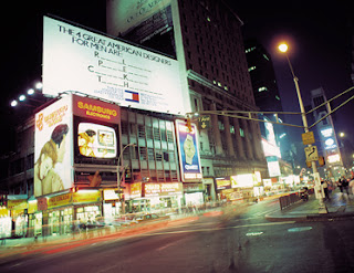 Billboard na Times Square