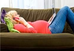 Uso de celulares durante gravidez pode gerar filhos com hiperatividade
