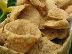 Resep makanan indonesia kerupuk tahu spesial (istimewa) praktis mudah enak, gurih, renyah (crispy), sedap, nikmat lezat