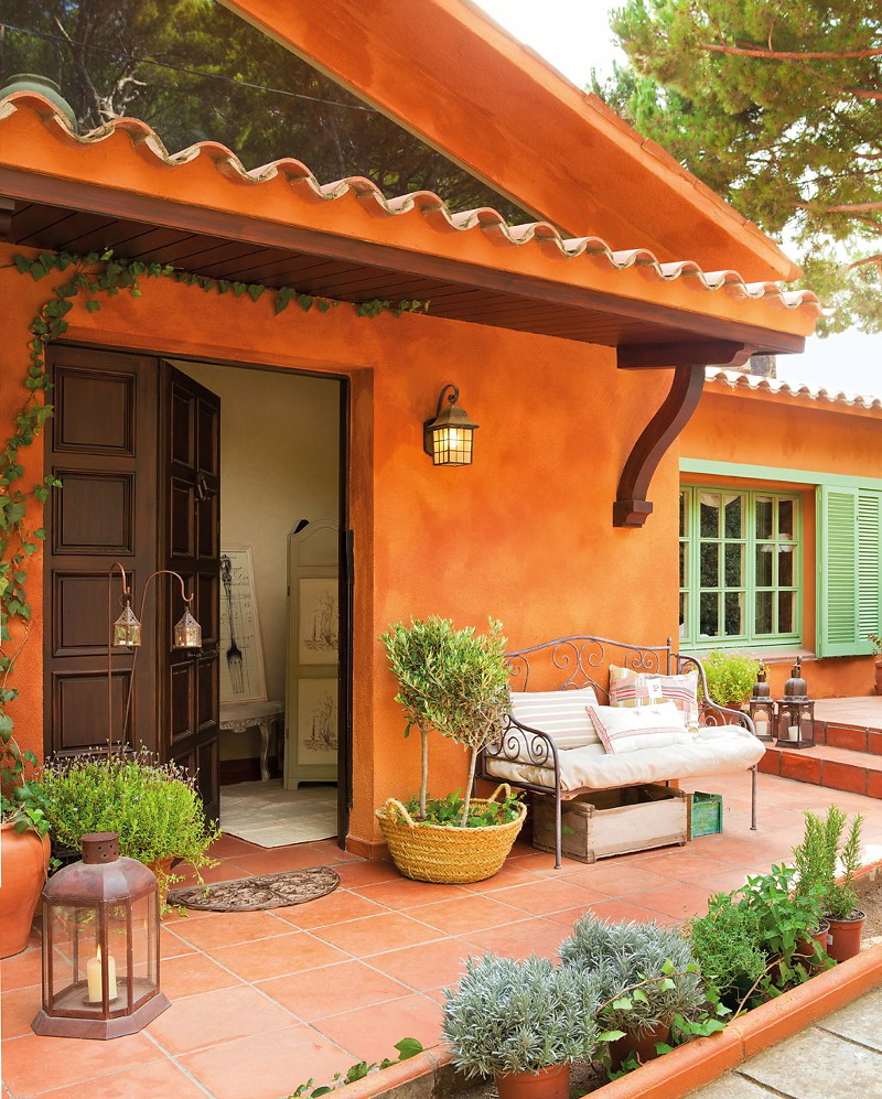 Decordemon a spanish house inspired by provence style for Provence homes