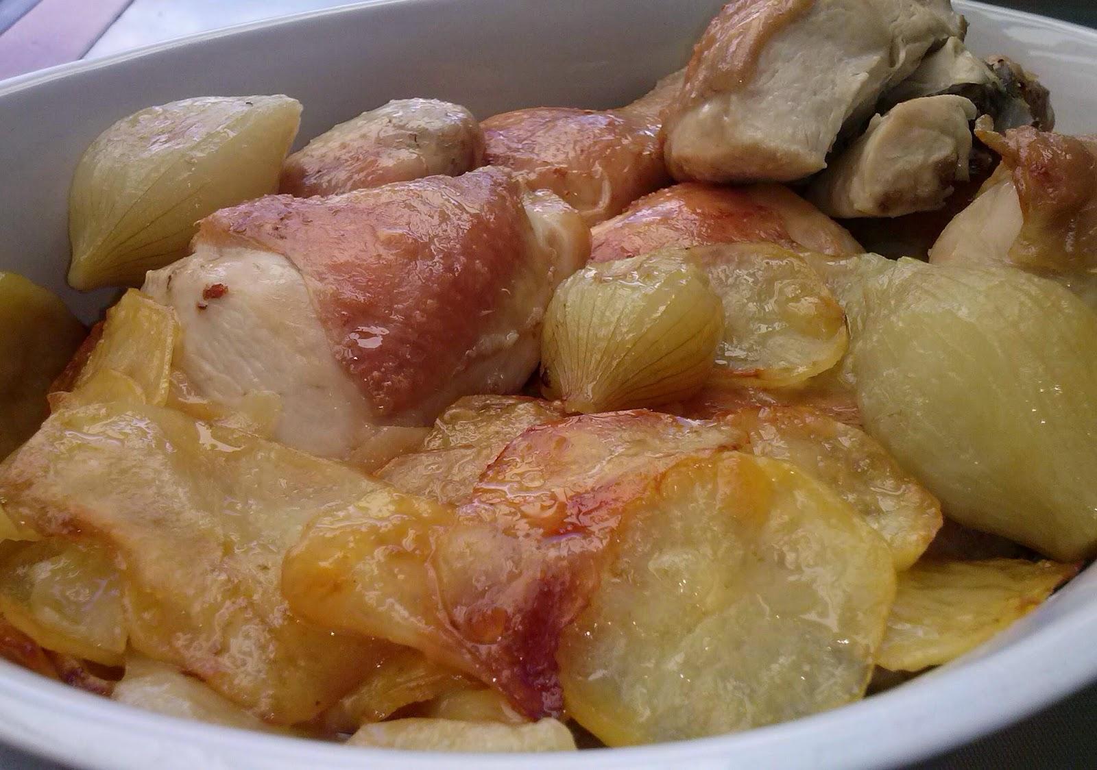 Como Cocinar Pollo Al Horno | La Cocina De Sole Pollo Asado En Trozos Con Patatas Panaderas