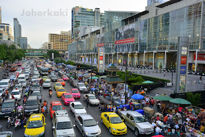 Bangkok-Food - Pla-Chon-Pao-Grilled-Snakehead-Fish-Street-Side-Stall -CentralWorld
