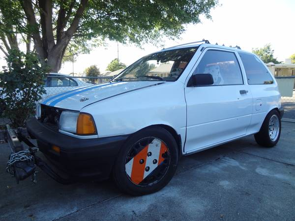 Daily Turismo 3k Festurbocharged 1991 Ford Festiva Turbo Project