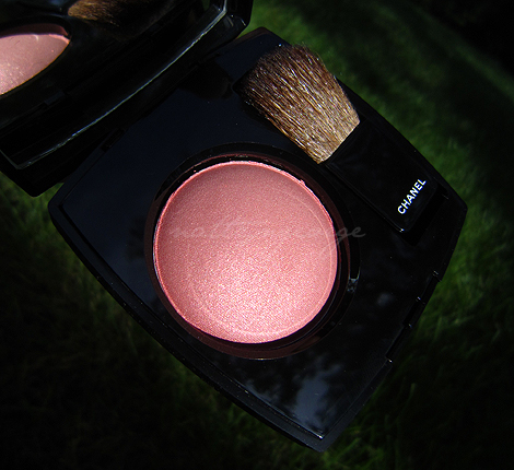 chanel rose bronze blush