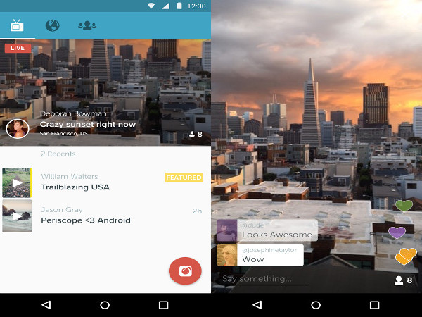 Apps para Android - Periscope