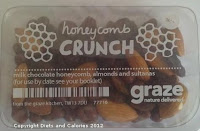Graze box snack - Honeycomb crunch