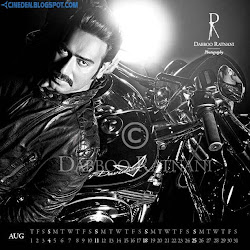 Ajay Devgan on Dabboo Ratnani 2013 Calendar Hot Celebrities Photoshoot Stills
