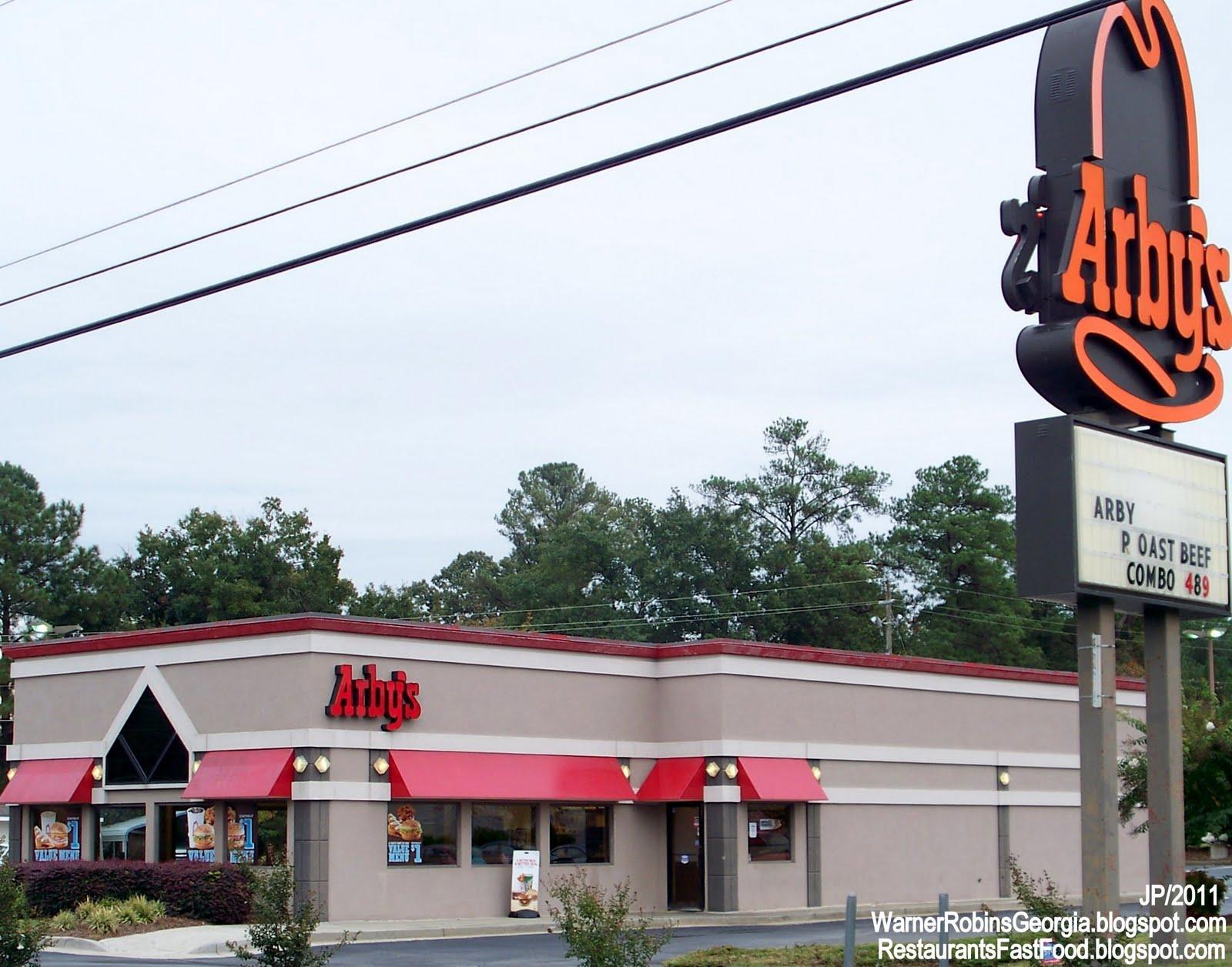 Arby S Warner Robins Georgia Watson Blvd Roast Beef Sandwich Fast Food Restaurant Ga