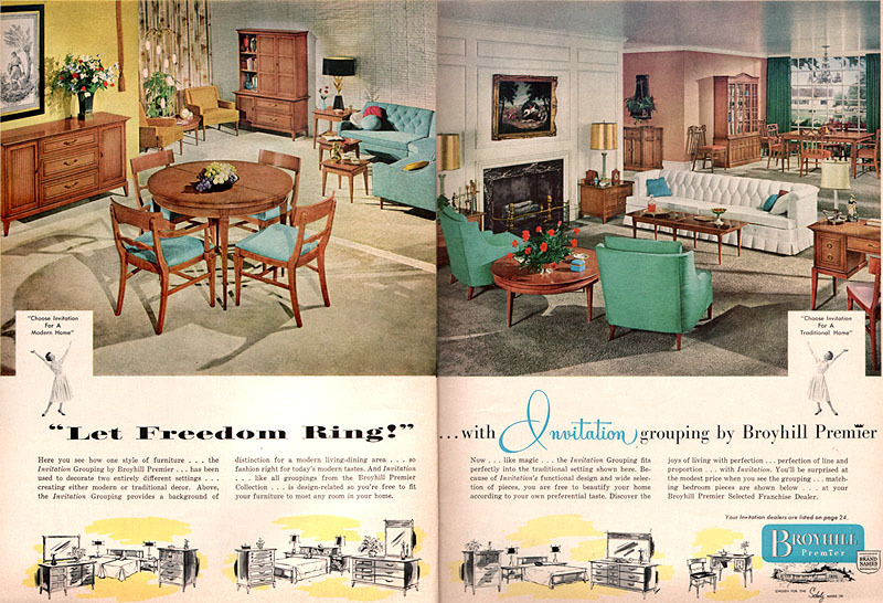 Iu0027m Starting To Get The Sense That The Broyhill Premier Invitation Grouping  Was One Of Their Lower Cost Lines Of Furniture, Which Is Why There Might  Not Be ...