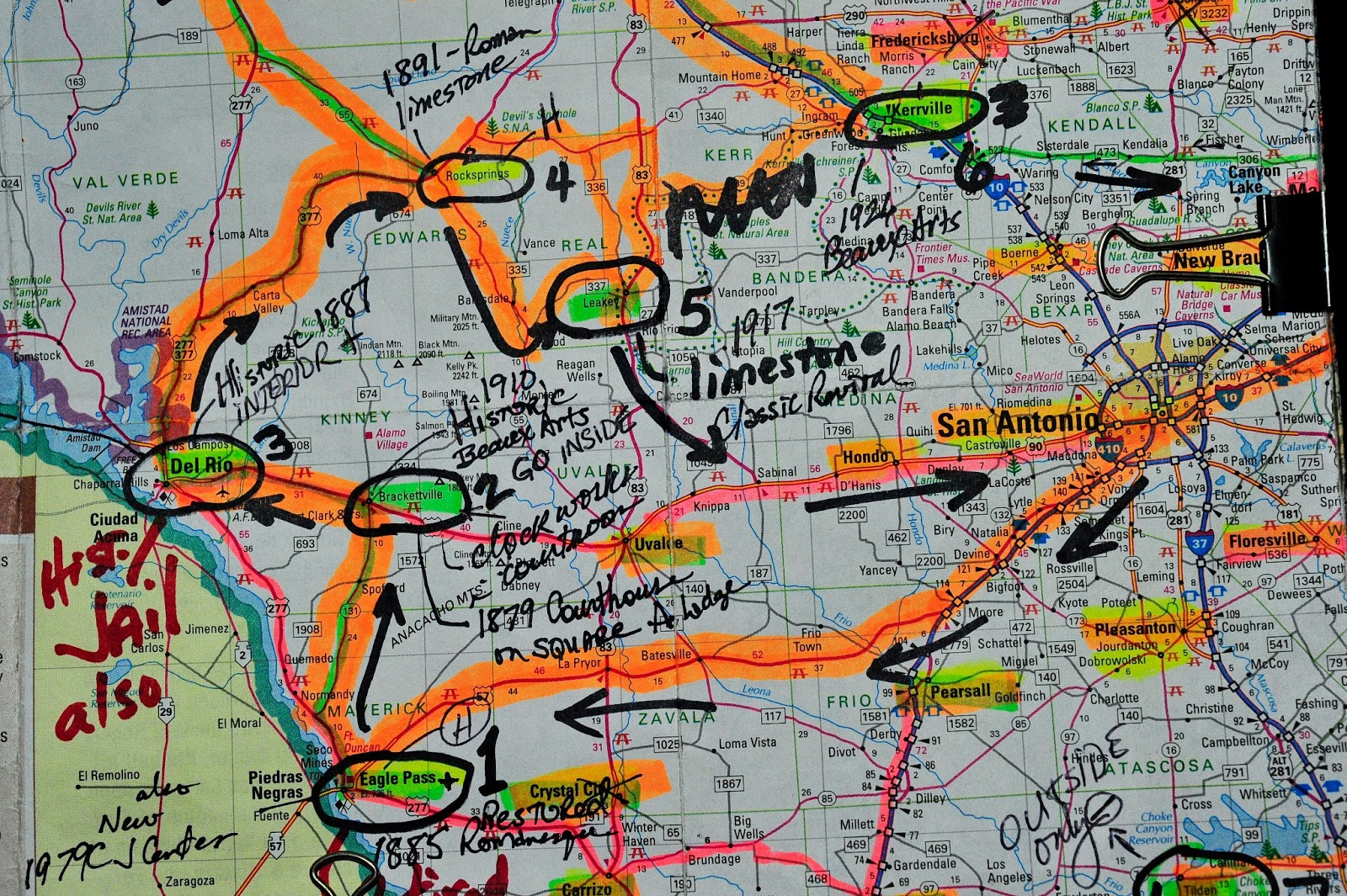 continuing the quest of 254 i planned a trip to the trans pecos area of texas west of san antonio it included the counties of maverick kinney