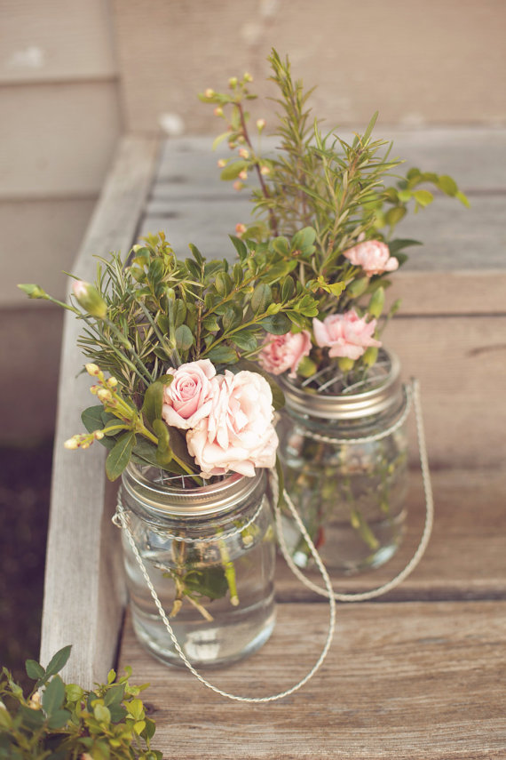 Country barrel giveaway hanging mason jars more