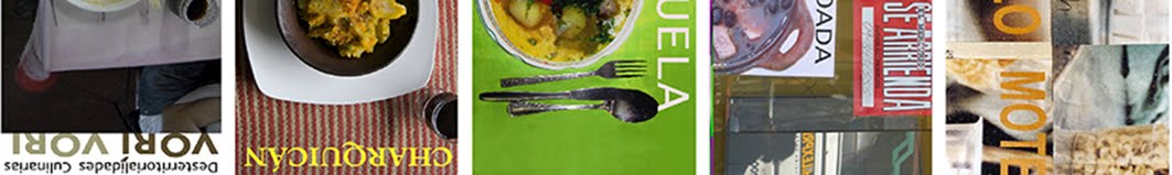 Natascha de Cortillas Diego/ Desterritorialidades culinarias