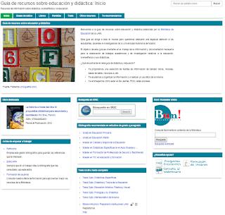 Biblioguía de educación y didáctica (Biblioteca de Educación)