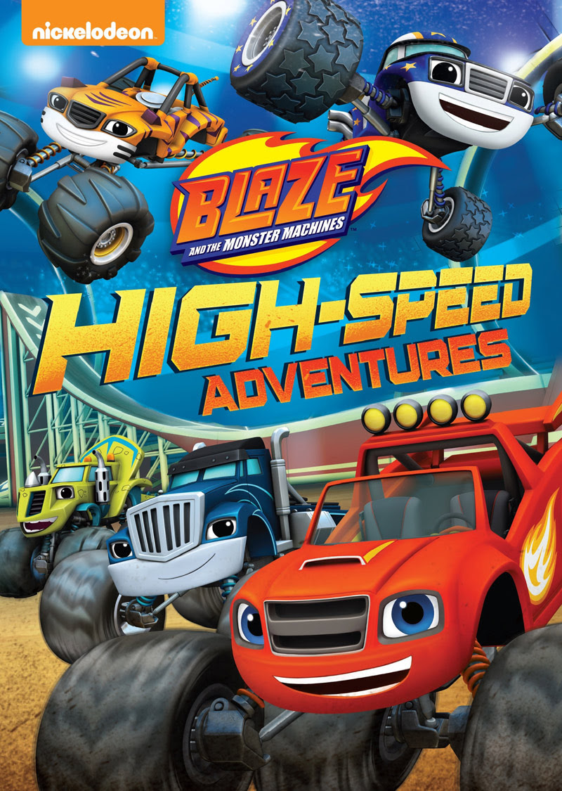 Blaze And The Monster Machines High Speed Adventures