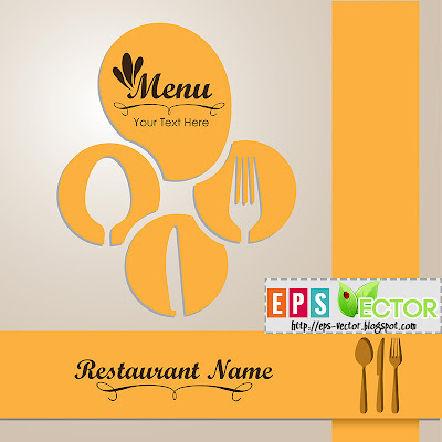 [Vector] - Elegant card for restaurant menu