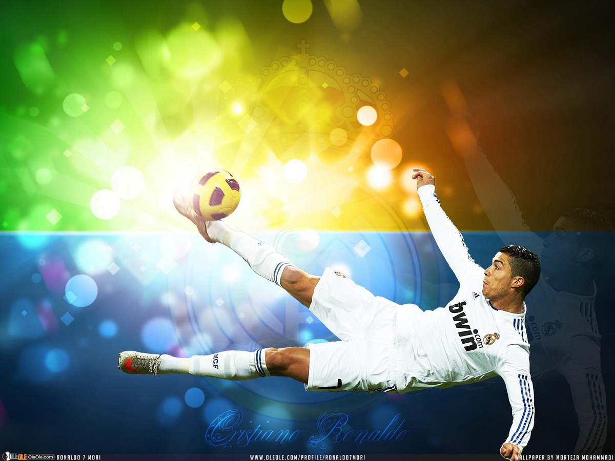 Famous Football Player Cristiano Ronaldo HD 2012 Wallpapers