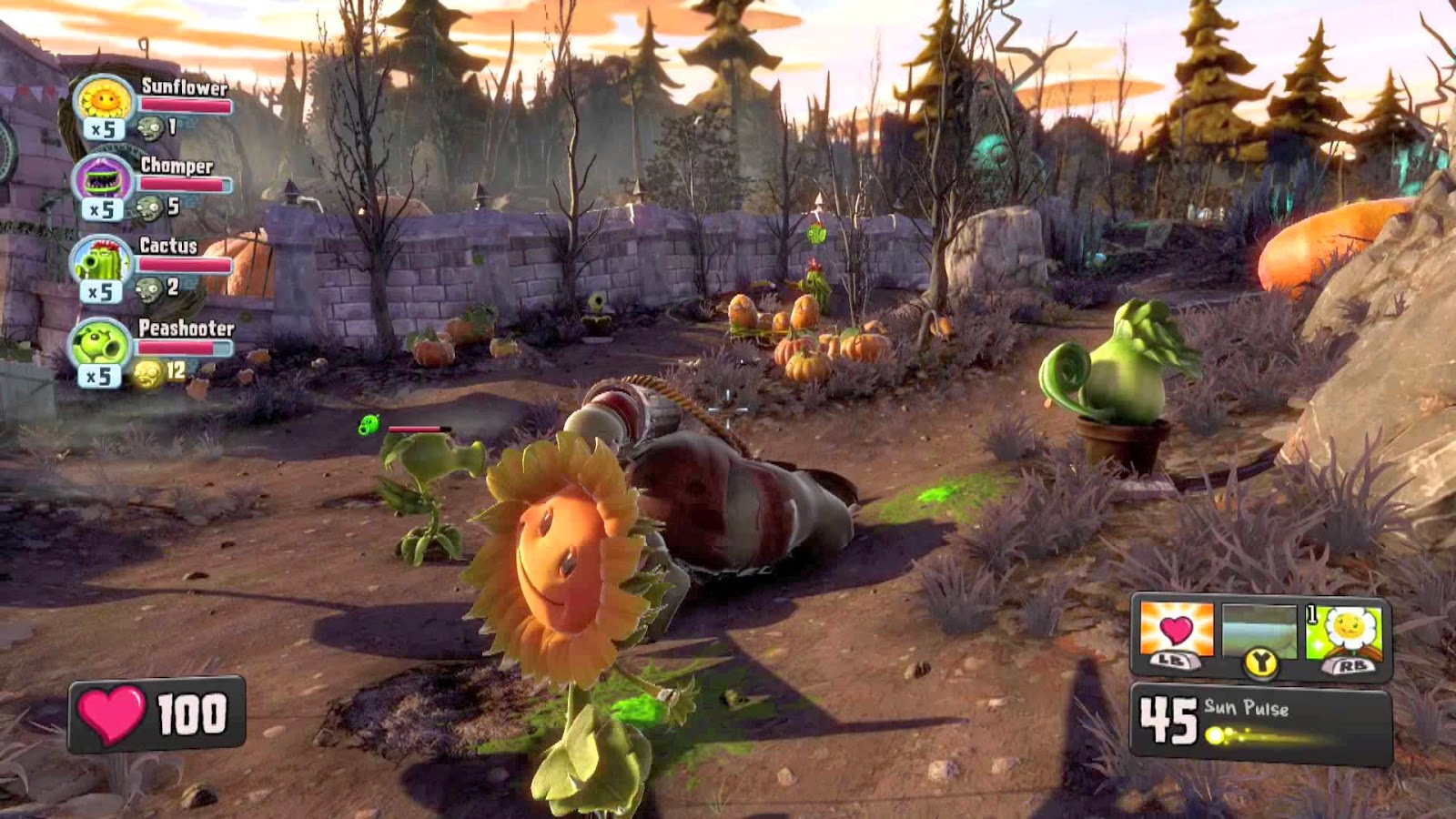 Plants vs Zombie: Garden Warfare на PC