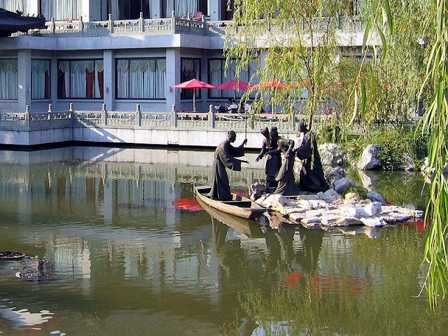 Mua vé máy bay đi Trung Quốc đến Tô Châu du lịch