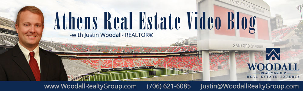 Athens Real Estate Video Blog with Justin Woodall