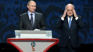 Putin y Blatter socios para el mundial de Rusia 2015