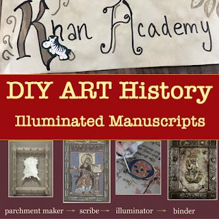 DIY Art History: Illuminated Manuscripts Lesson Plan