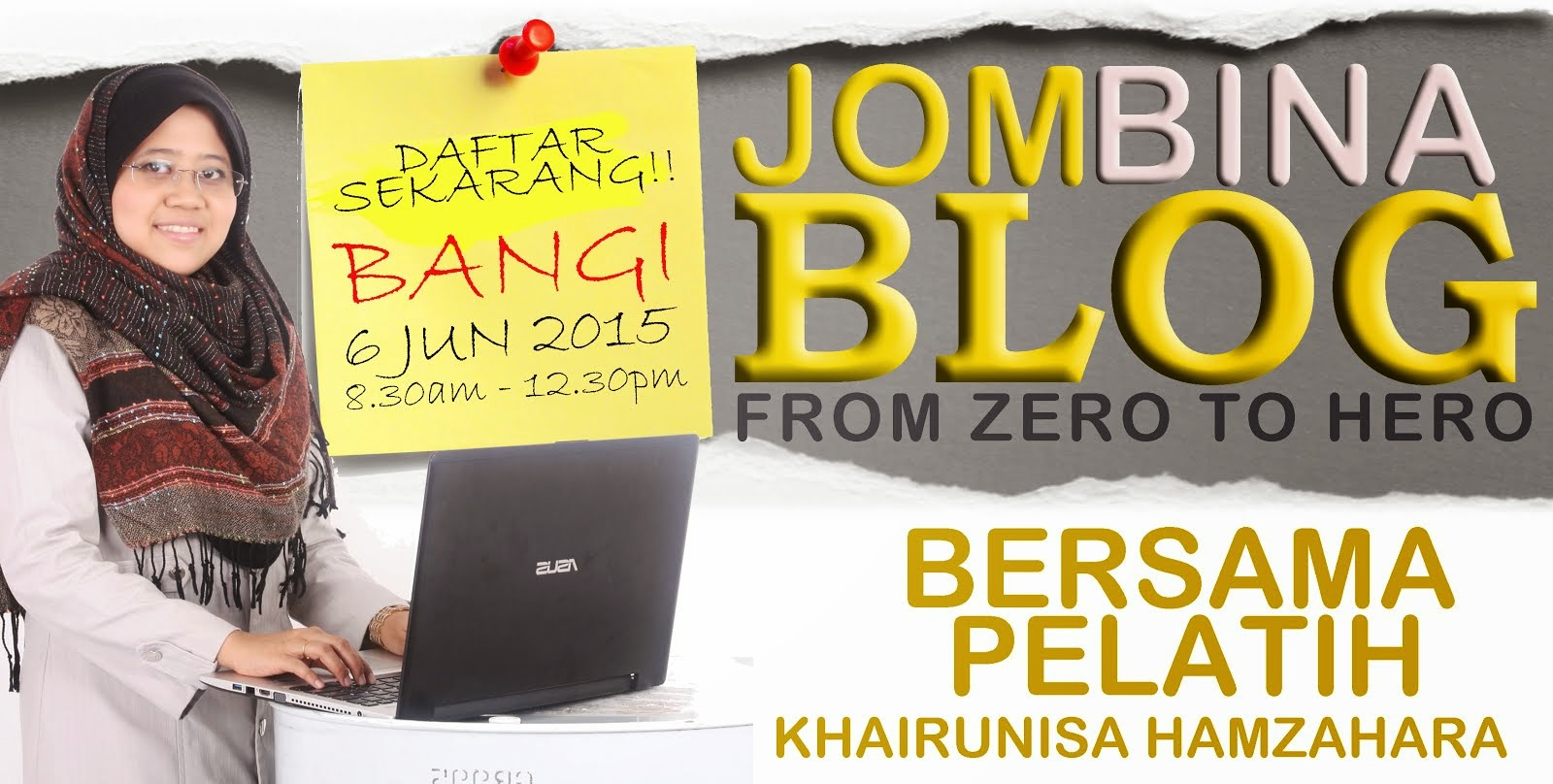 TERKINI !! JOM BINA BLOG FROM ZERO TO HERO