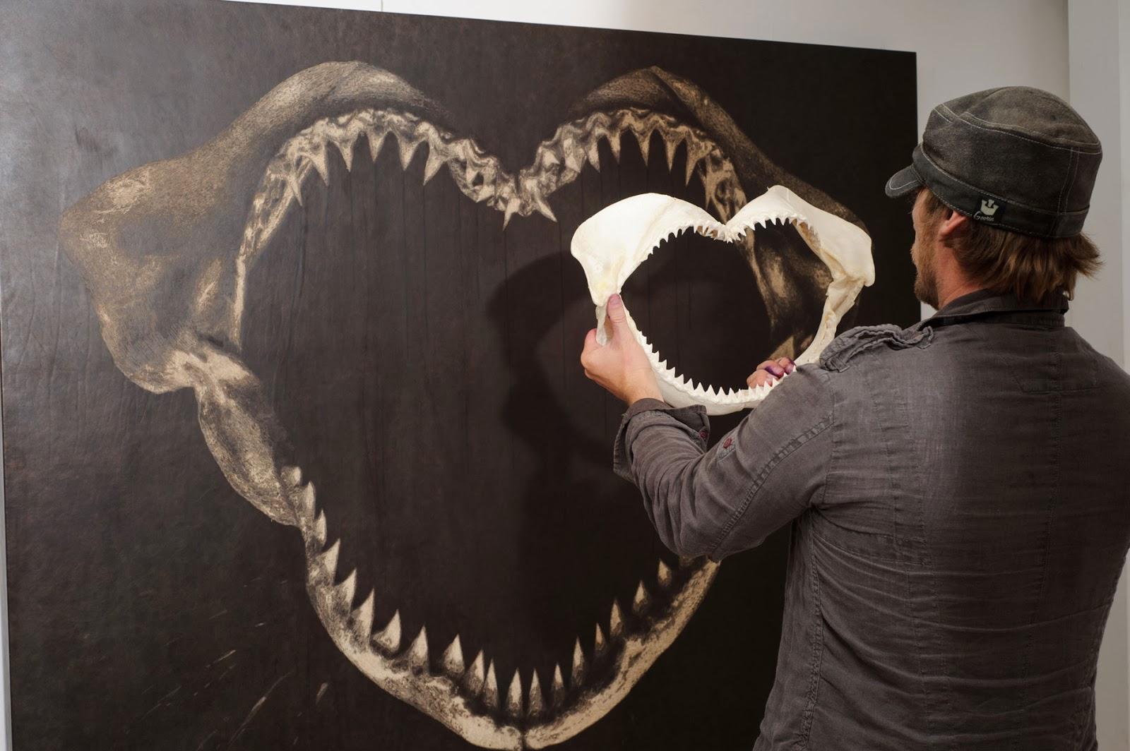 06-Artist-Mark-Evans-Engraved-Leather-Artwork-www-designstack-co