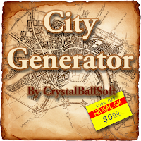 Free GM Resource: City Generator