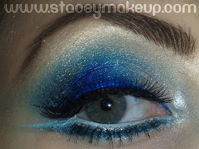 Winter Frost makeup
